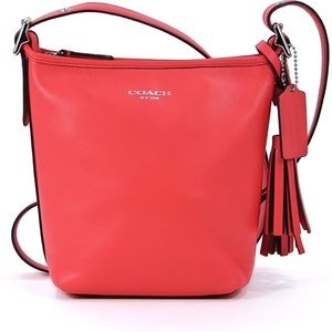 Coach Legacy Mini 19901 Duffle Crossbody Coral